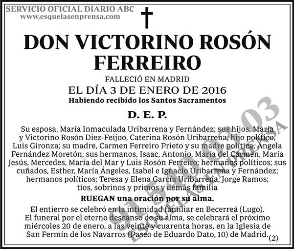 Victorino Rosón Ferreiro